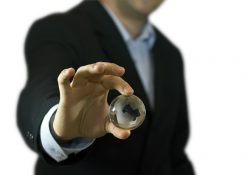 businessman-and-crystal-globe-recycling
